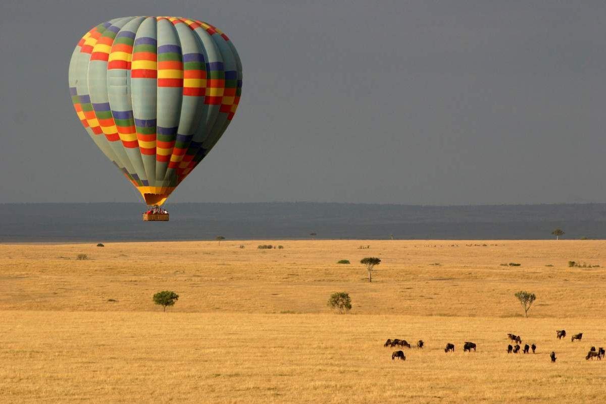 Balloon Safari In The Mara Kenya