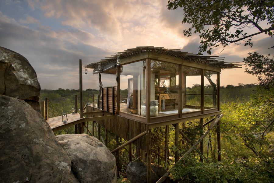 lion sands tree houses - Most Expensive Tree House In The World