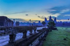 Angkor Thom and Angkor Wat