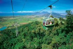 Kuranda Rail, Skyrail and Tjapukai
