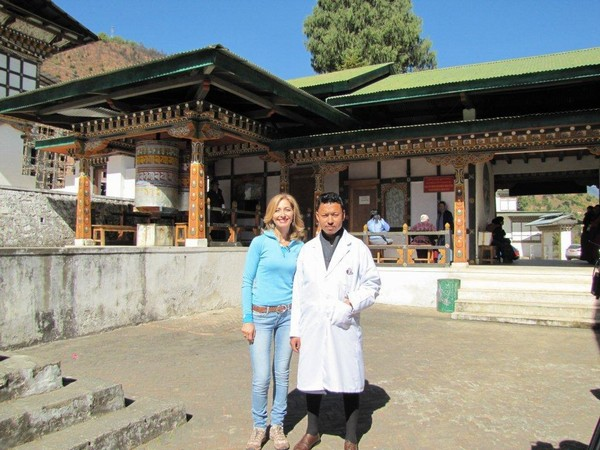 With the Physician at Tradtional Healing Center