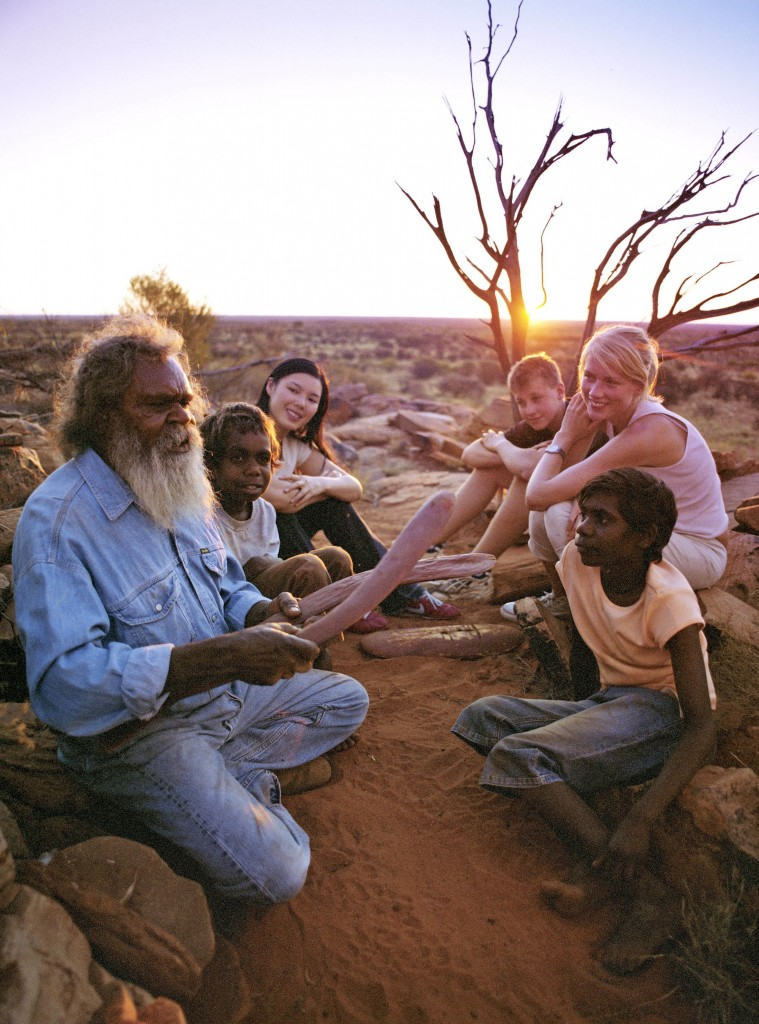 Aboriginal; Storytelling in the Northern Territory;Mandatory credit: Tourism Australia Copyright