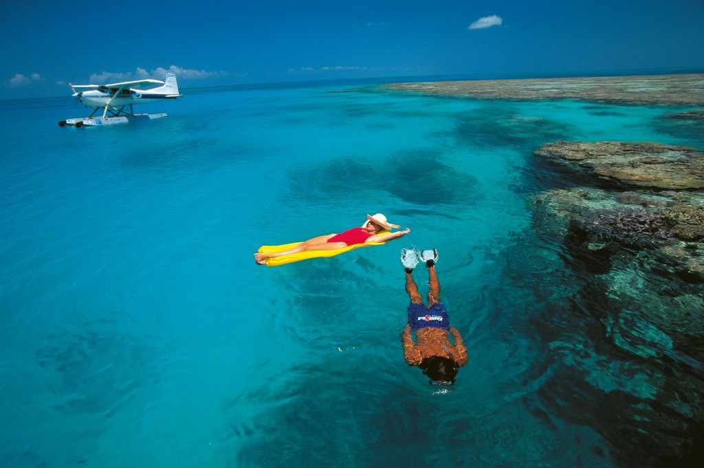 There are many things to do on Hardy Reef Photo Credit: Tourism Queensland