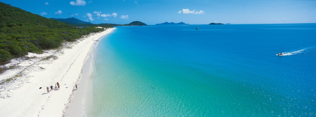 Whitehaven Beach Photo Credit: Tourism Queensland