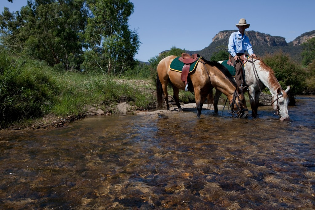 Wolgan Valley horse-riding 2