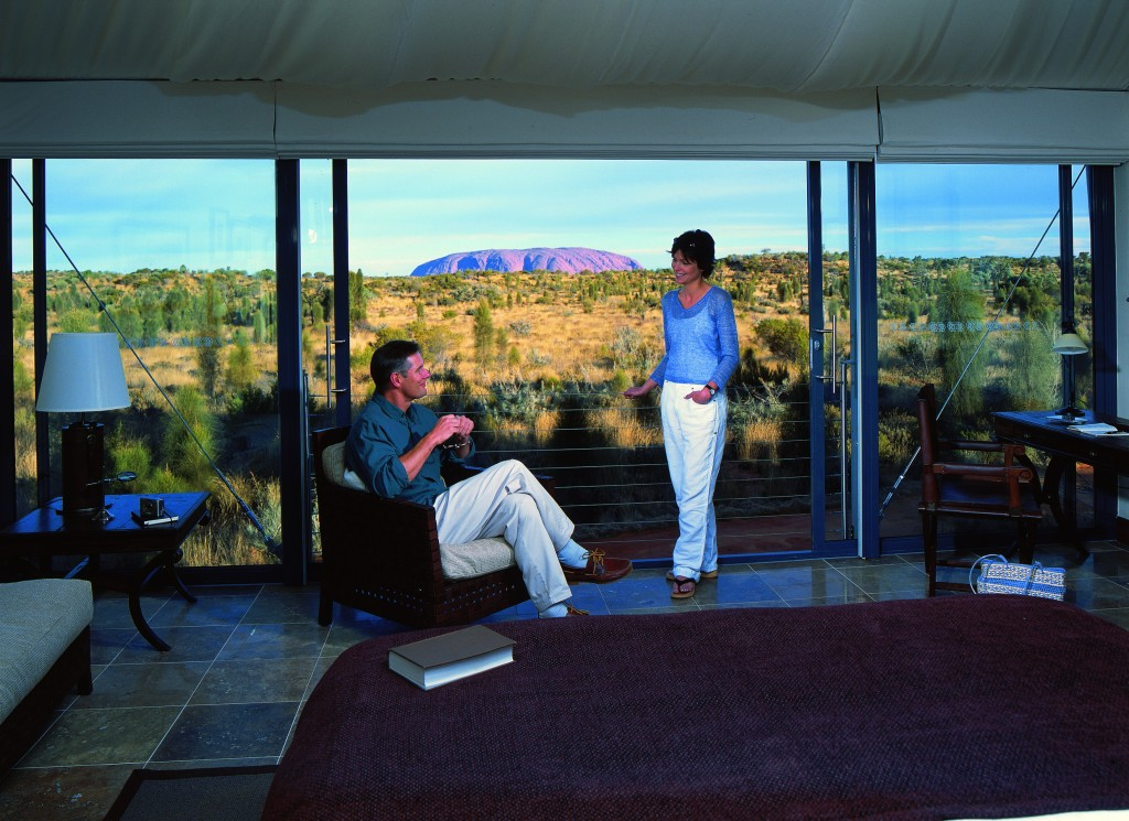 AYQ L131 Tent Uluru View Pic 1