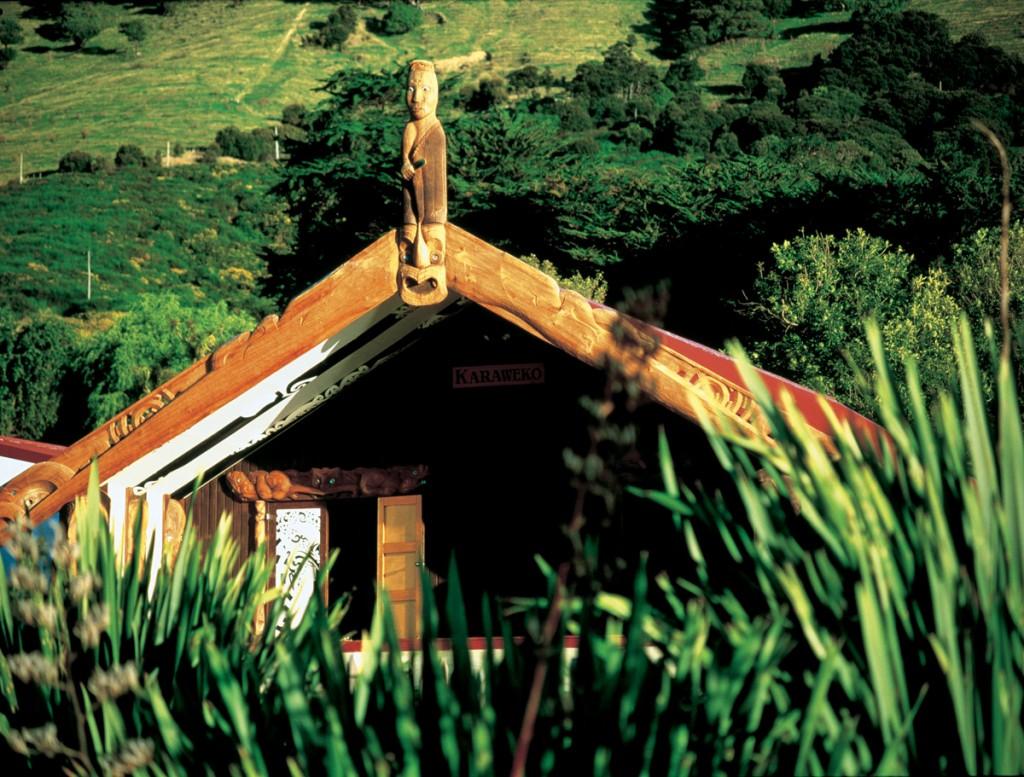 Wharenui (meeting house) | Photo Credit: Tourism New Zealand