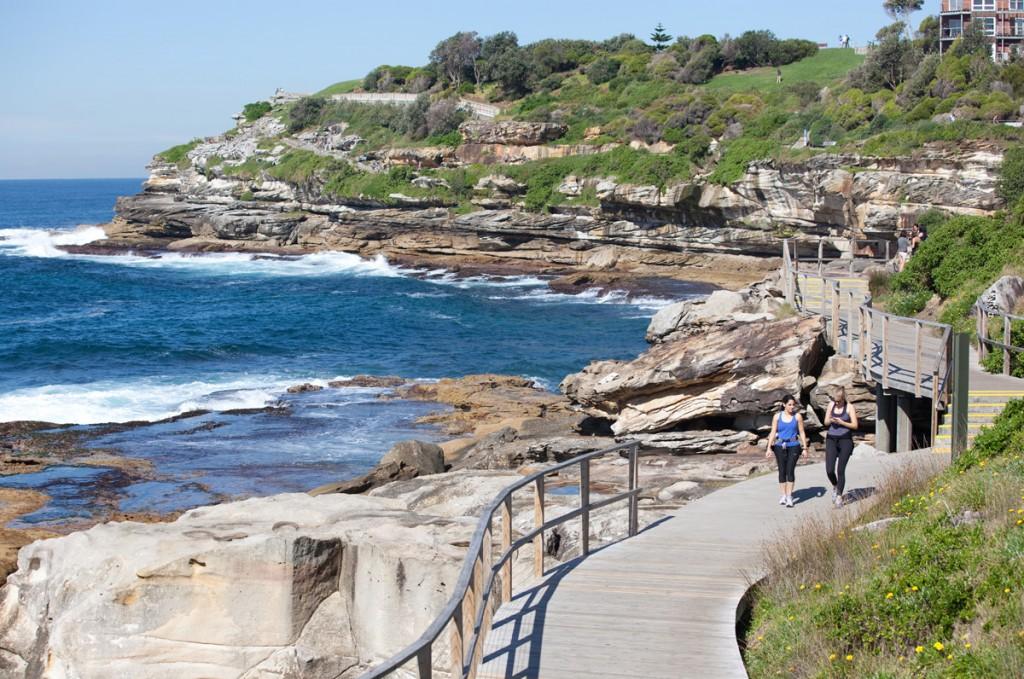 Bondi coastal walk | Photo Credit: James Horan; Destination NSW