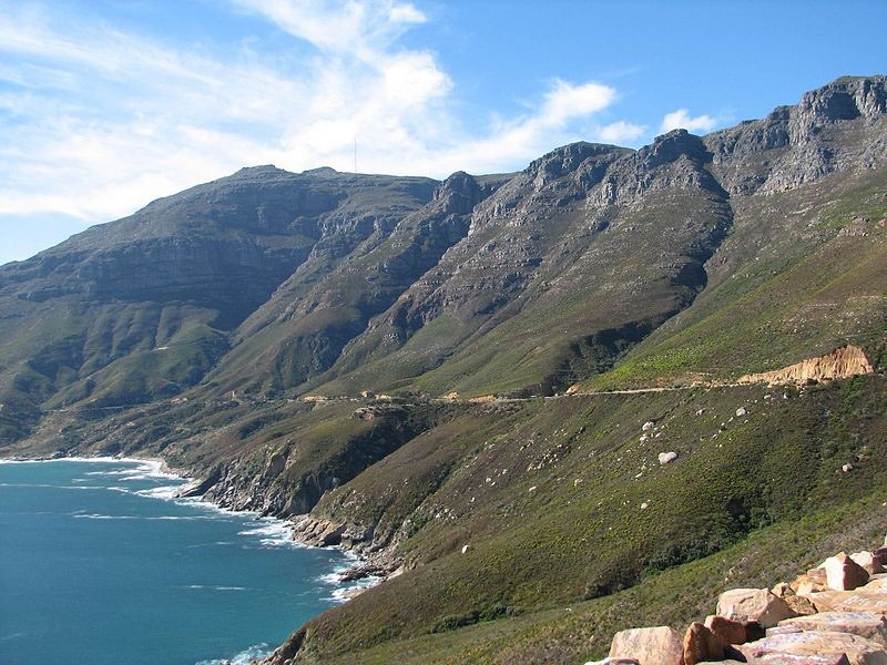 Chapman's Peak Drive Descent to Hout Bay | Photo Credit: Wiki Commons