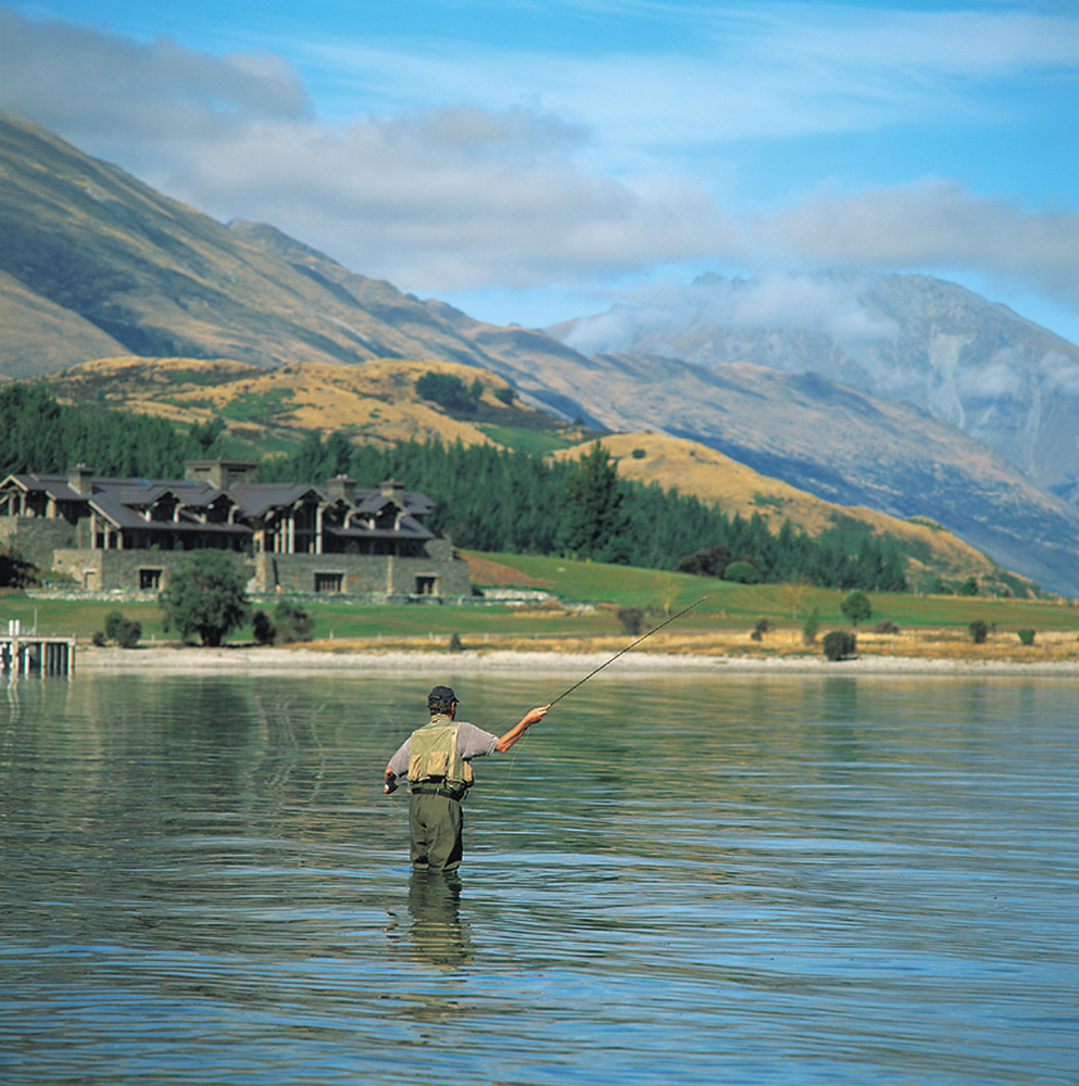 Fly Fishing | Photo Credit: Blanket Bay Lodge