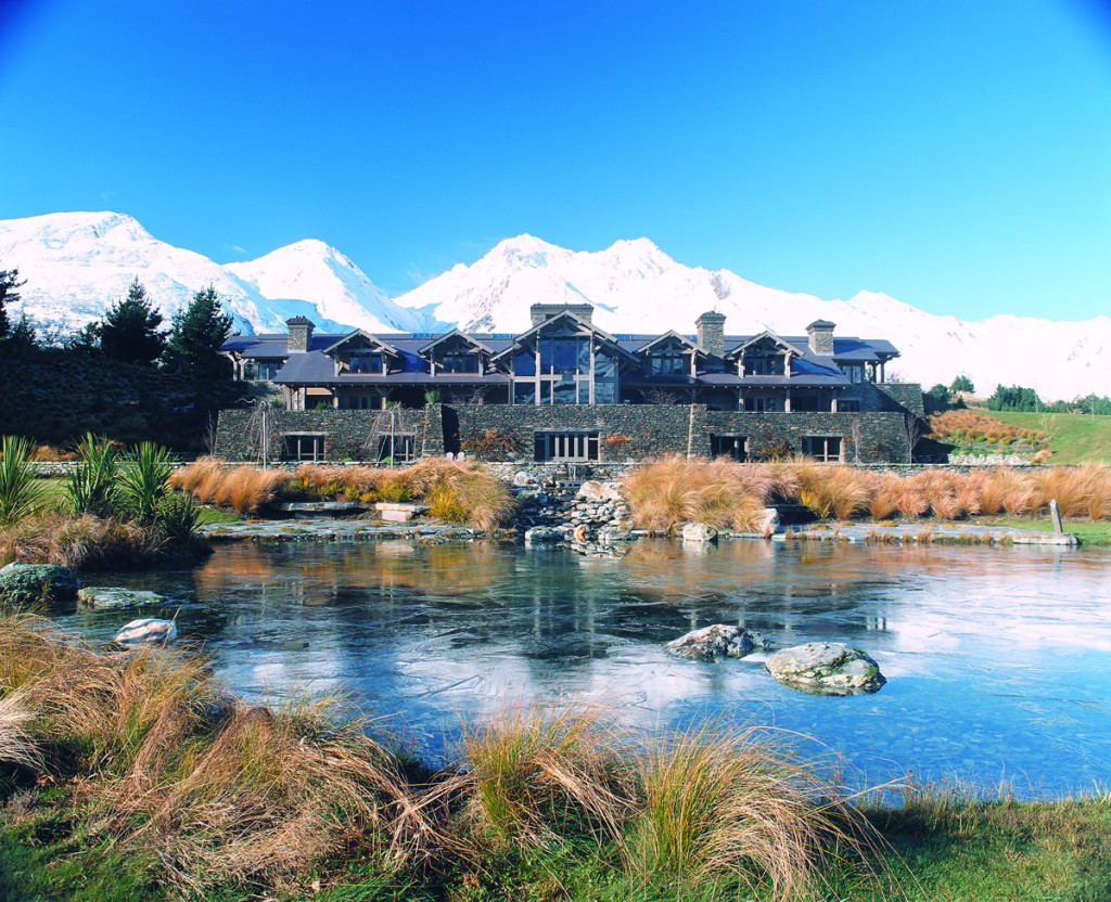 Exterior of Blanket Bay Lodge | Photo Credit: Blanket Bay Lodge