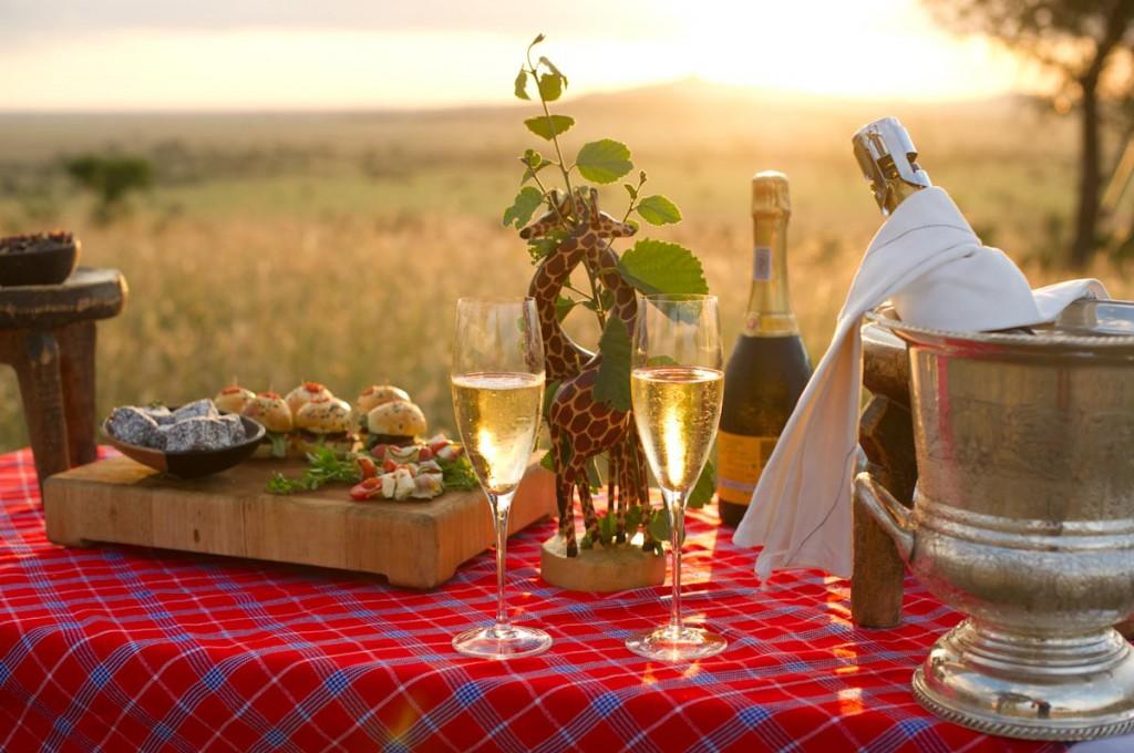 Wine Experience | Photo Credit: Singita Sasakwa Lodge