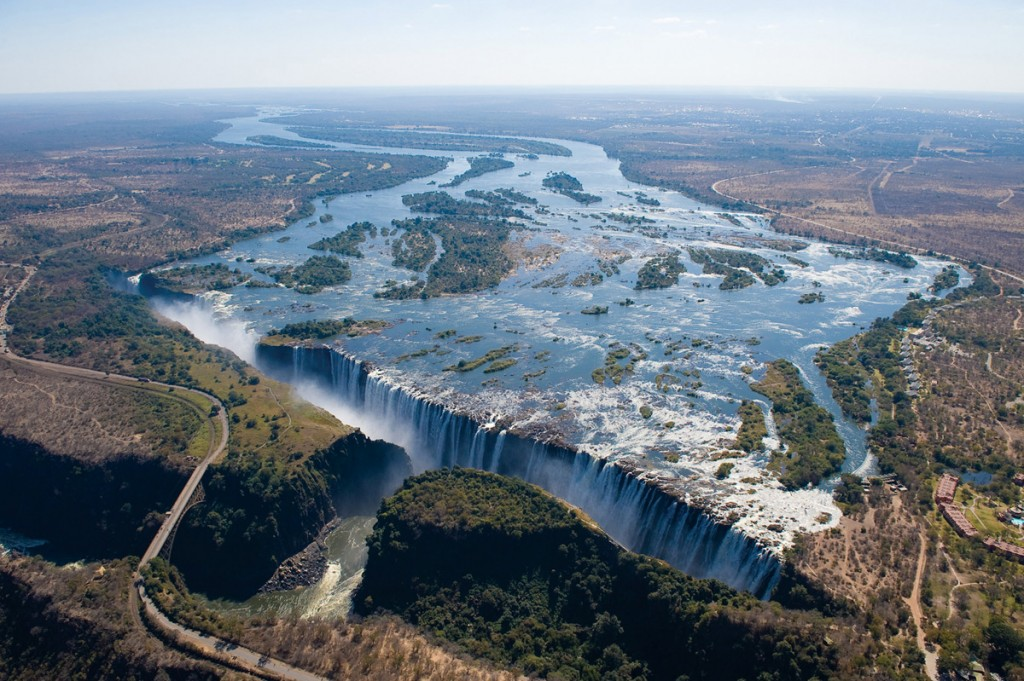 Victoria Falls and the Zambezi River   Photo Credit: Livingstone Adventures