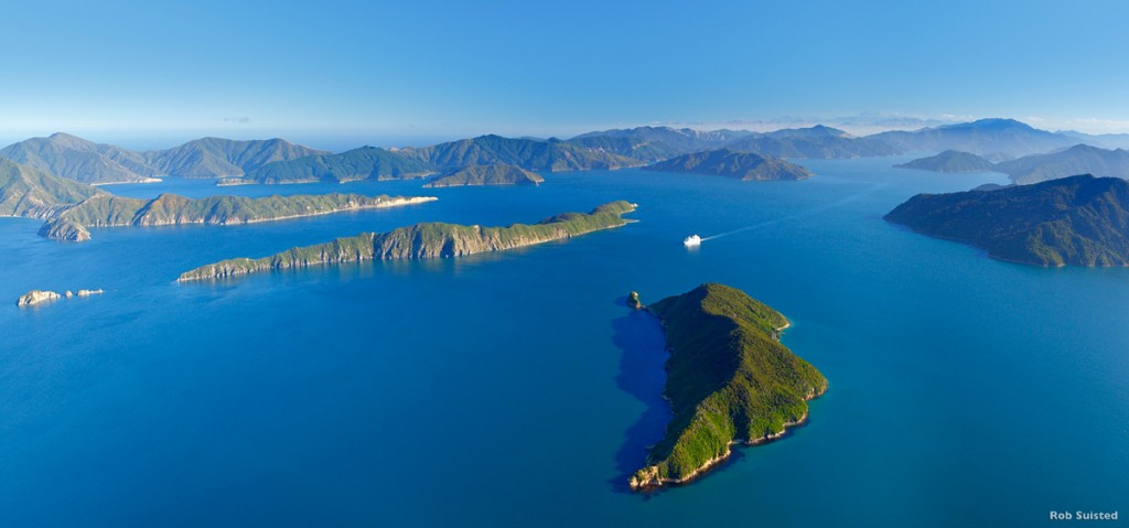 Marlborough Sounds | Photo Credit: Tourism New Zealand
