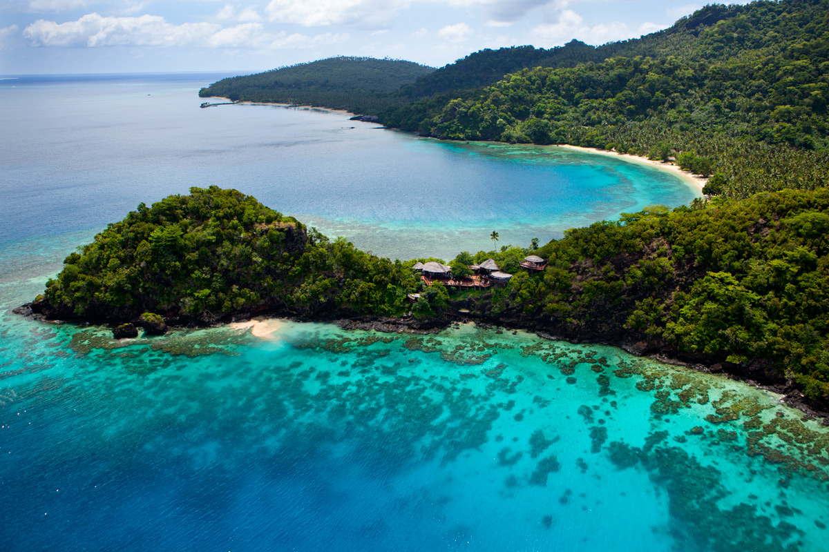 Aerial View of Laucala | Photo Credit: Laucala