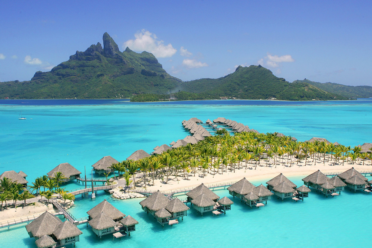 Aerial View | Photo Credit: St. Regis Bora Bora
