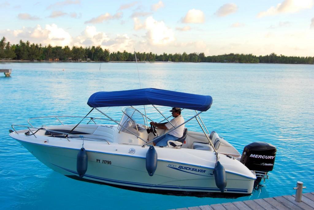Boating   Photo Credit: St. Regis Bora Bora