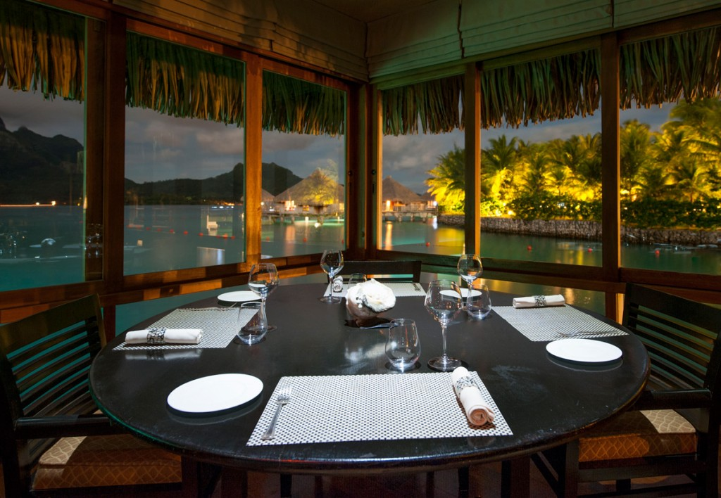 Lagoon Restaurant   Photo Credit: St. Regis Bora Bora