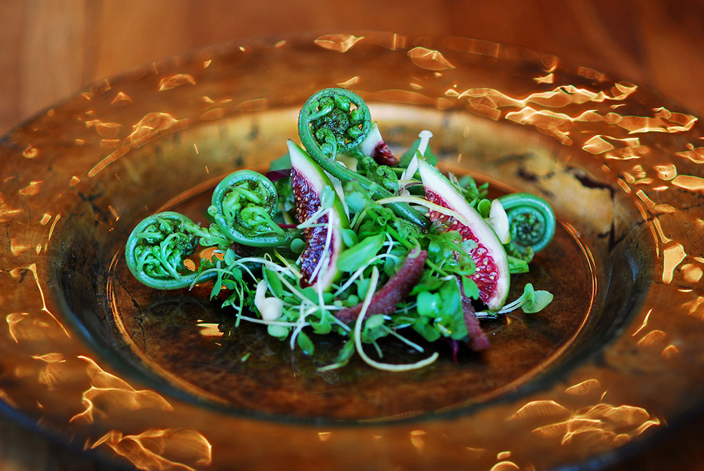 Salad | Photo Credit: Wharekauhau Lodge