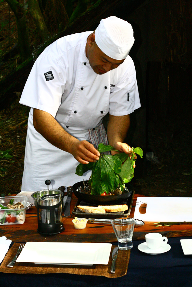 Cooking | Photo Credit: Treetops Lodge & Estate