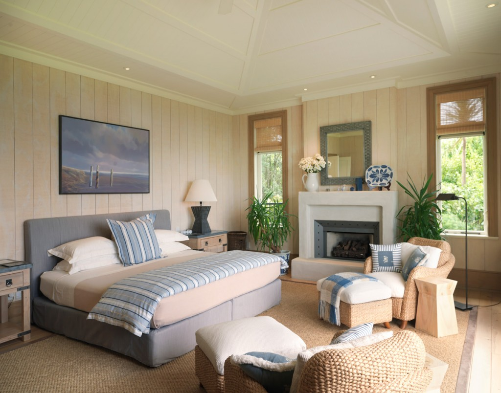 Owners Cottage Master Bedroom | Photo Credit: The Lodge at Kauri Cliffs