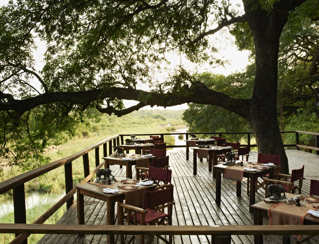 Deck at Ebony Lodge Photo Credit: Singita