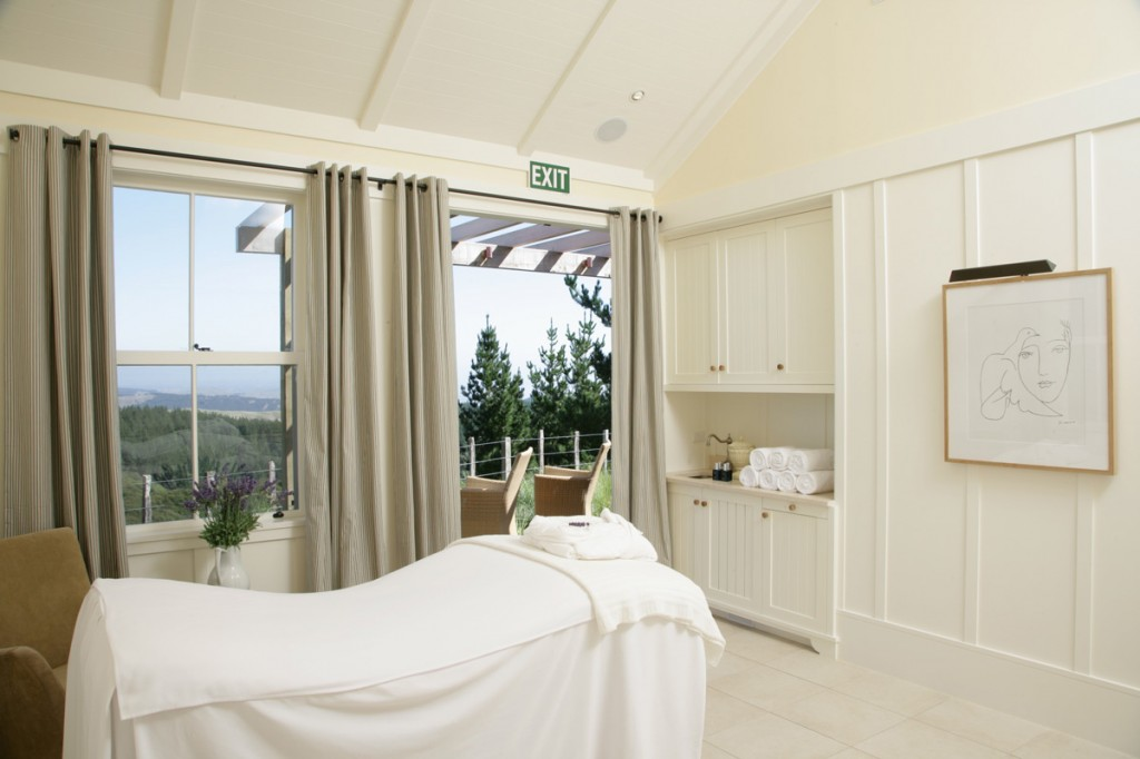 Spa Treatment Room | Photo Credit: The Farm at Cape Kidnappers
