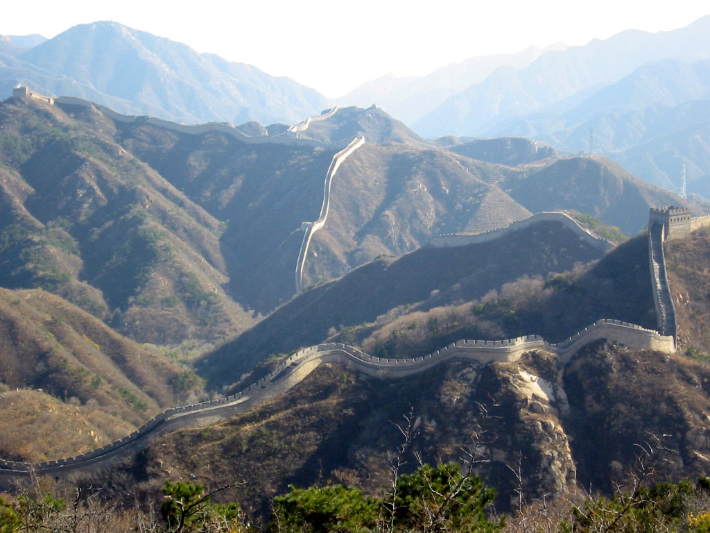 The Great Wall near Badaling  | Photo Credit: WikiCommons