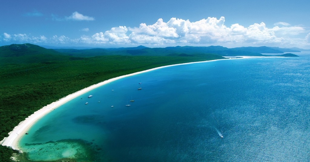 Aerial View of Whitehaven Beach | Photo Credit: qualia