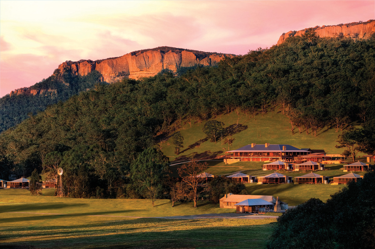 Aerial View   Photo Credit: Wolgan Valley Resort & Spa