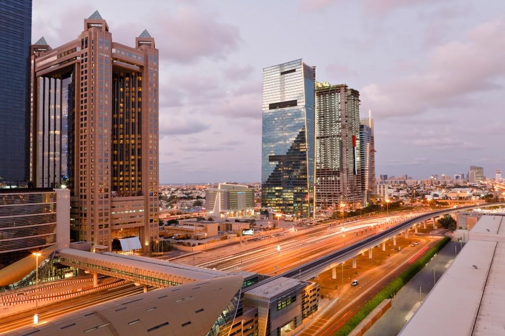 Sheikh Zayed Road   Photo Credit: Fairmont Dubai