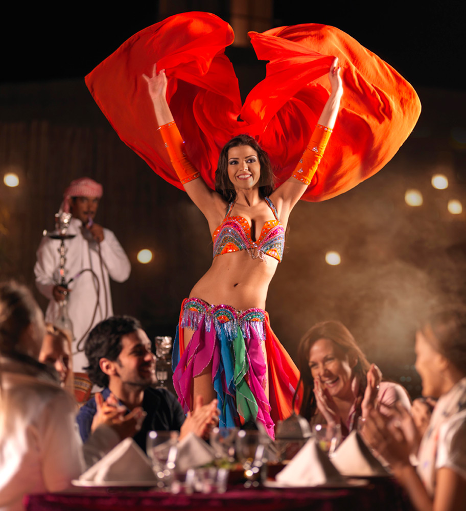Belly Dancer | Photo Credit: Arabian Adventures