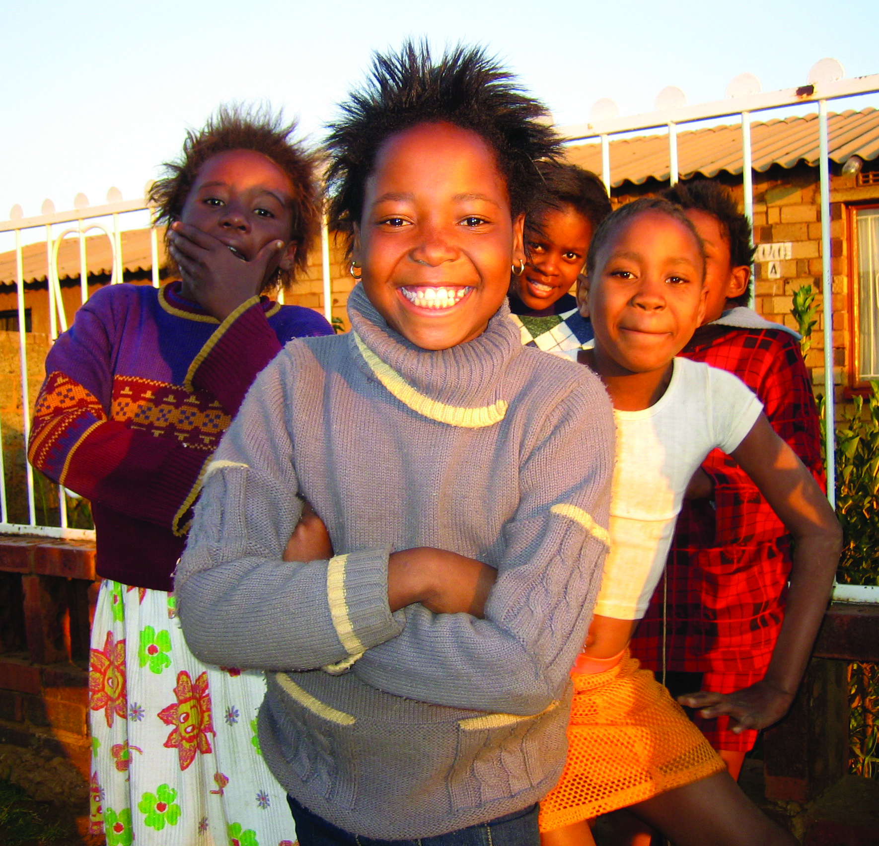 Friendly faces in Soweto Photo Credit: South Africa Tourism