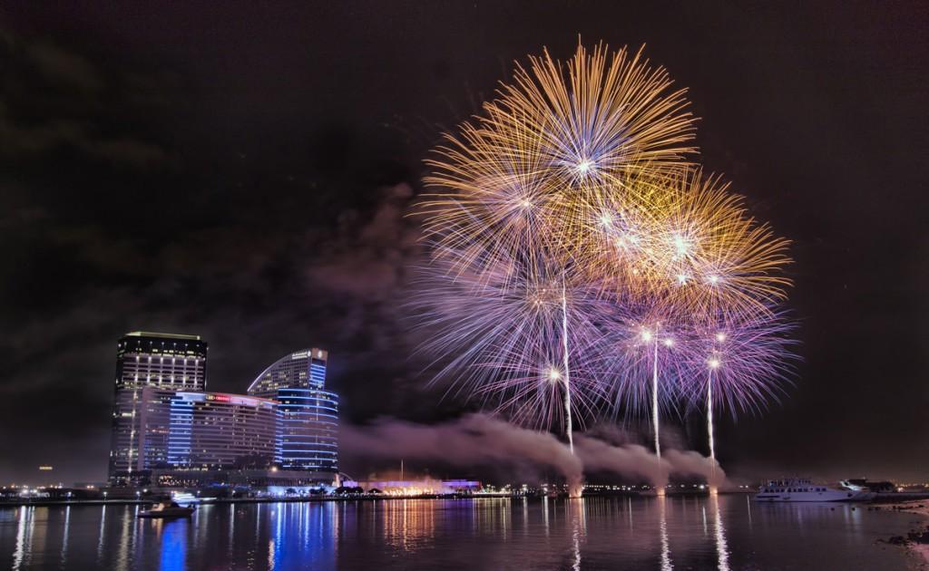 Fireworks over Dubai   Photo Credit: Dubai