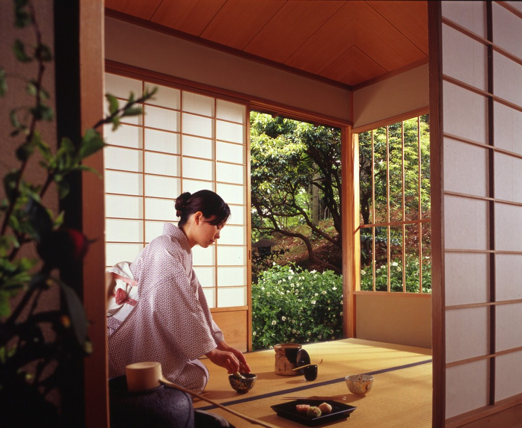 Japanese tea  house | Photo Credit: Westin Miyako, Kyoto