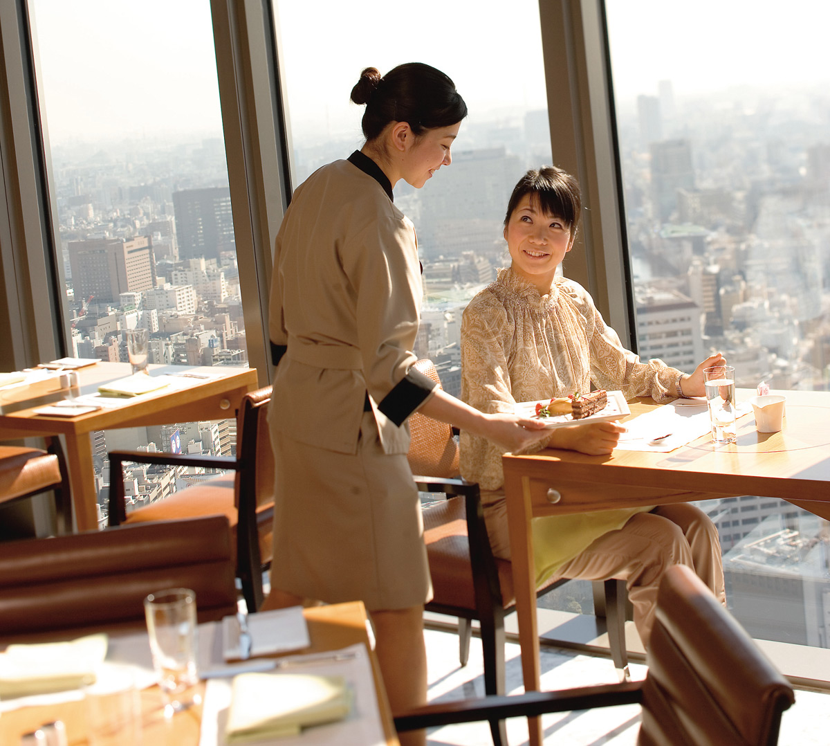 Tipping etiquette when traveling in japan swain destinations kshiki restaurant photo credit mandarin oriental tokyo m4hsunfo