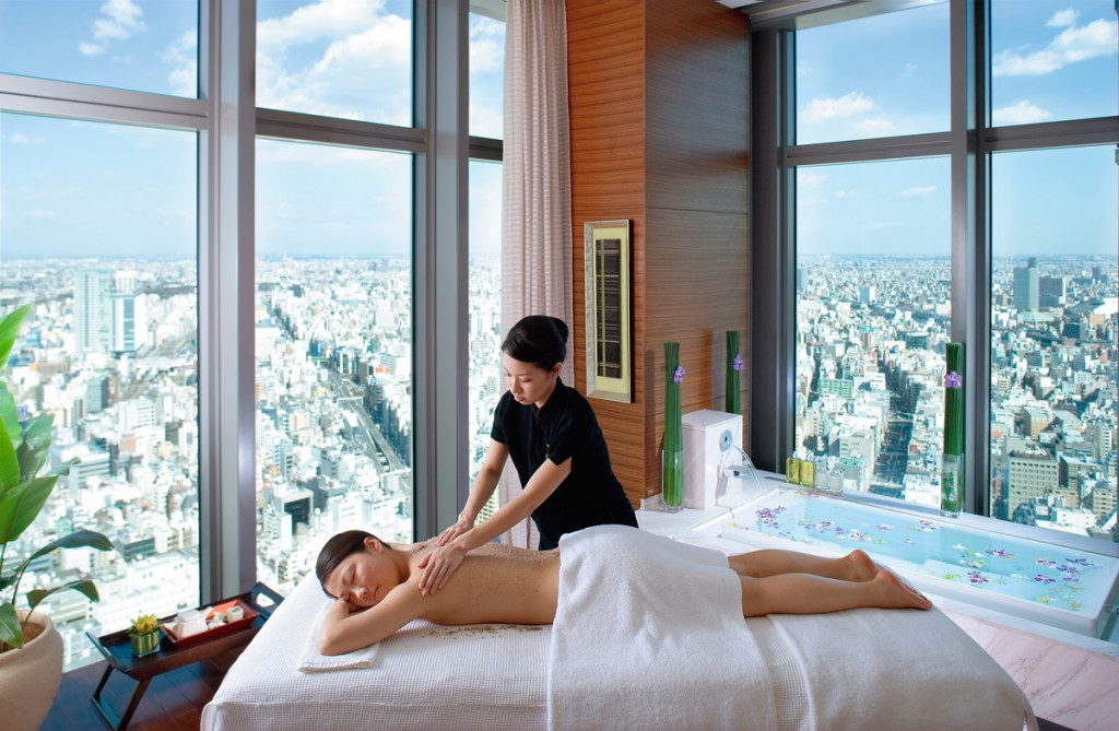 Spa Treatment | Photo Credit: Mandarin Oriental Tokyo