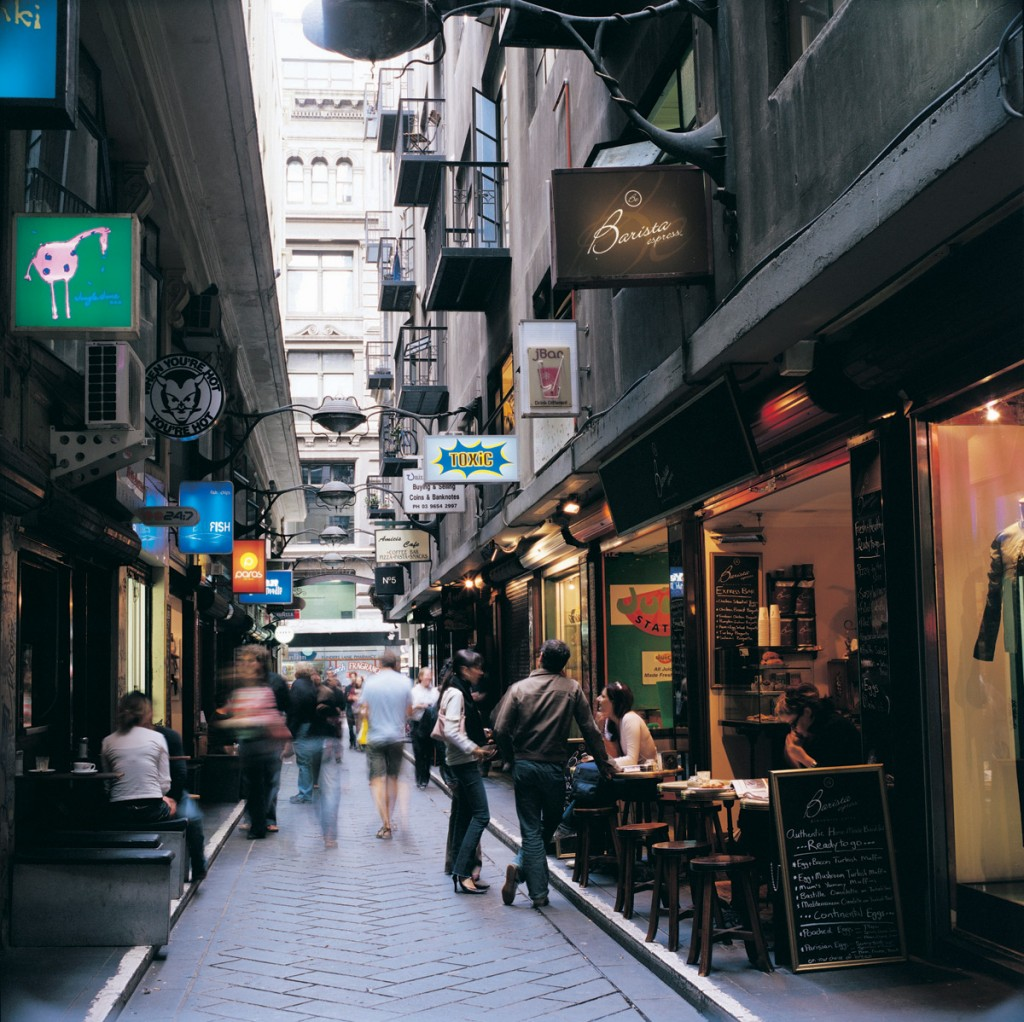 Degraves Lane | Photo Credit: Tourism Victoria