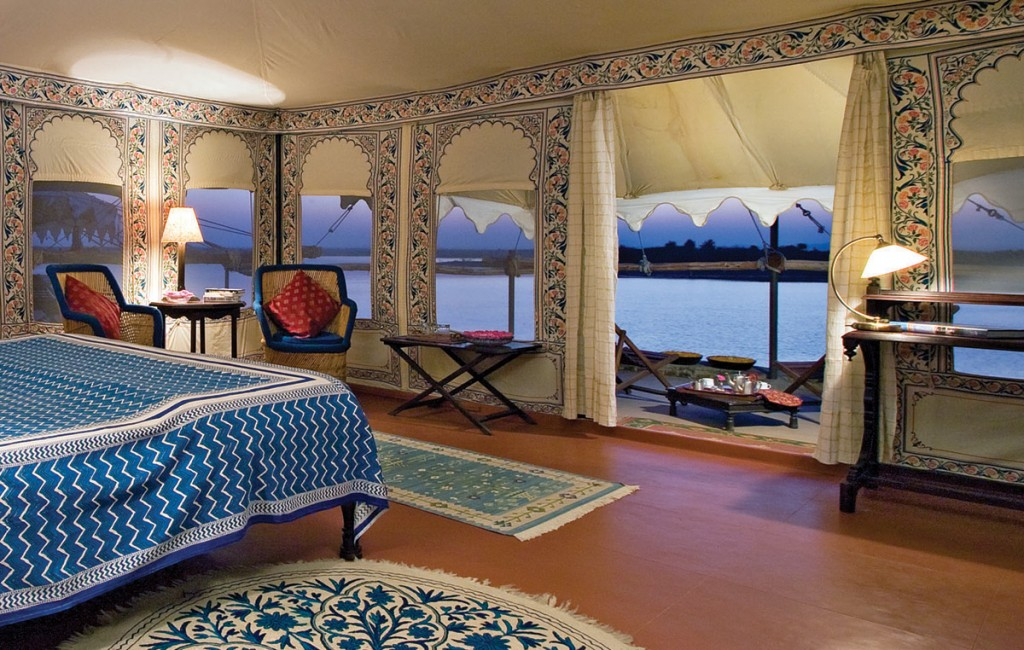 Tent Interior | Photo Credit: Chhatra Sagar