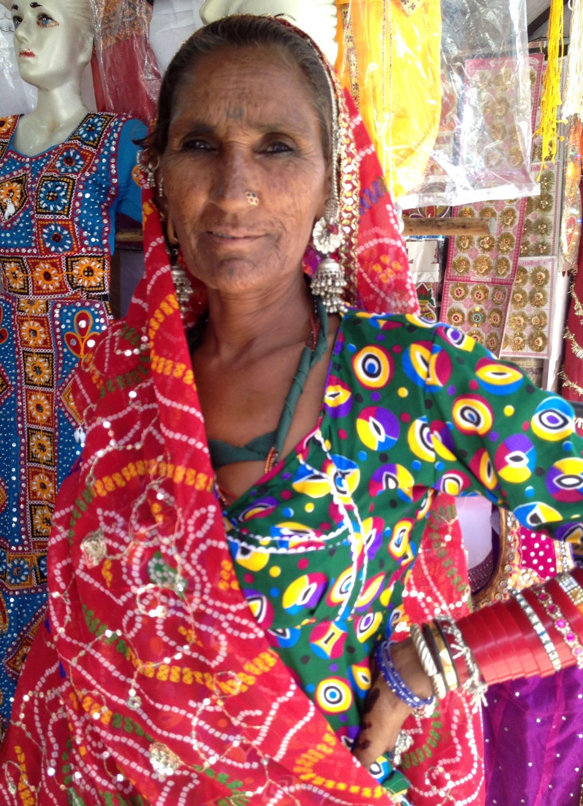 Local woman in Jaipur