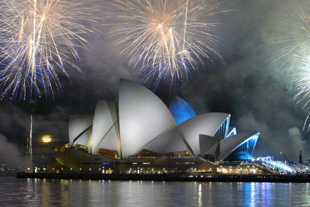 Fireworks over Sydney Harbour | Photo Credit: Tourism Australia