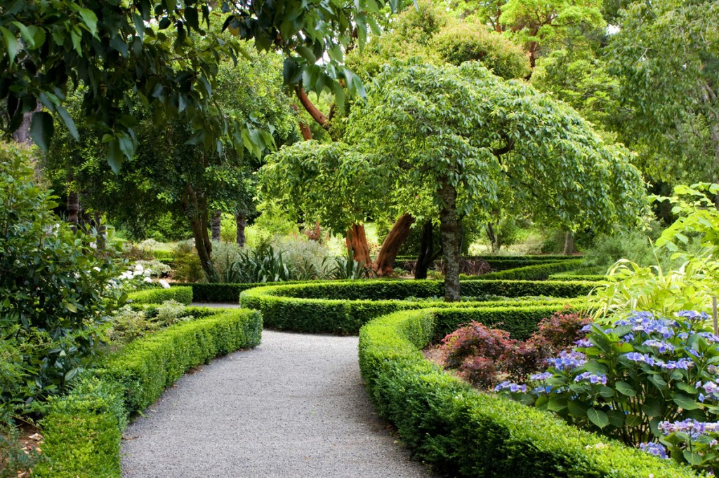 Photo: Dutch Garden | Image Credit: Otahuna Lodge