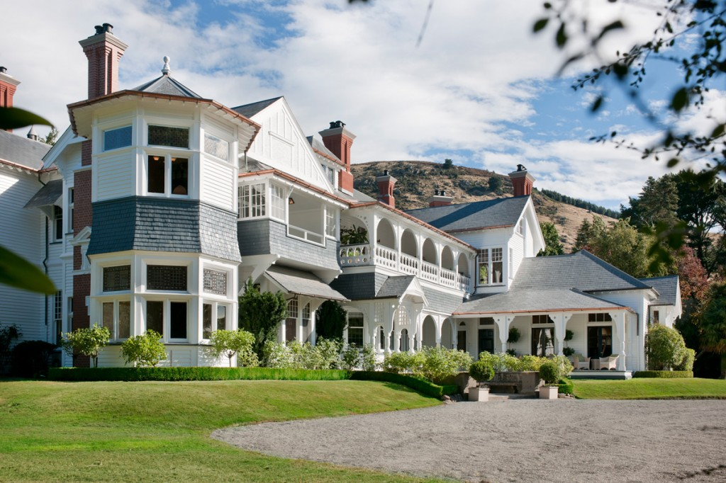 Photo: Otahuna Lodge – exterior | Image Credit: Otahuna Lodge