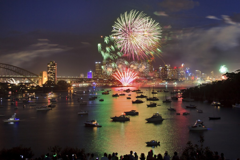 Fireworks over Sydney Harbour | Photo Credit: Shutterstock