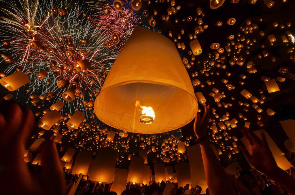 Loi Krathong Lanterns | Photo Credit: Shutterstock