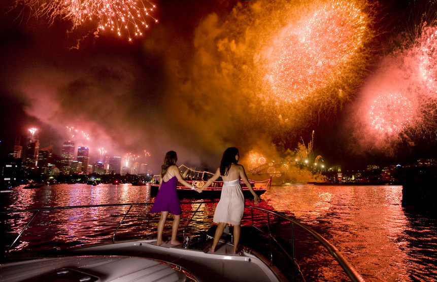 Fireworks over Sydney Harbour | Photo Credit: Destination New South Wales