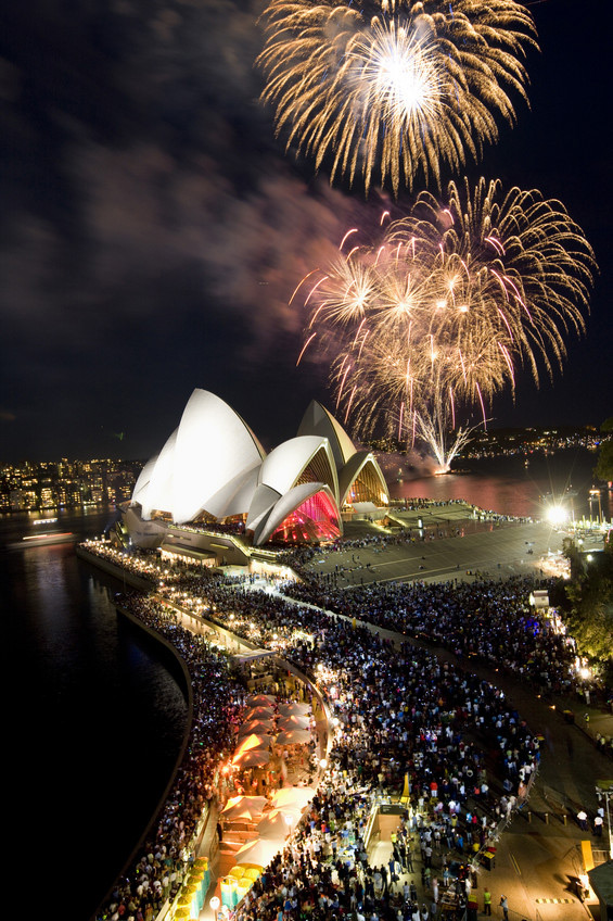 Fireworks over Sydney Harbour | Photo Credit: Destination New South Wales