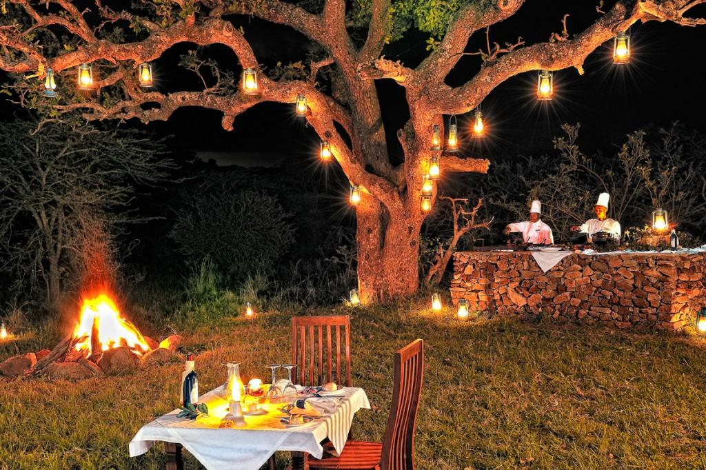 Barbecue Dinner | Photo Credit: Serengeti Migration Camp