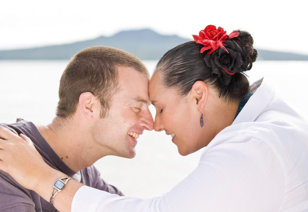 A hongi, the traditional Maori greeting | Photo Credit: TIME Unlimited Tours