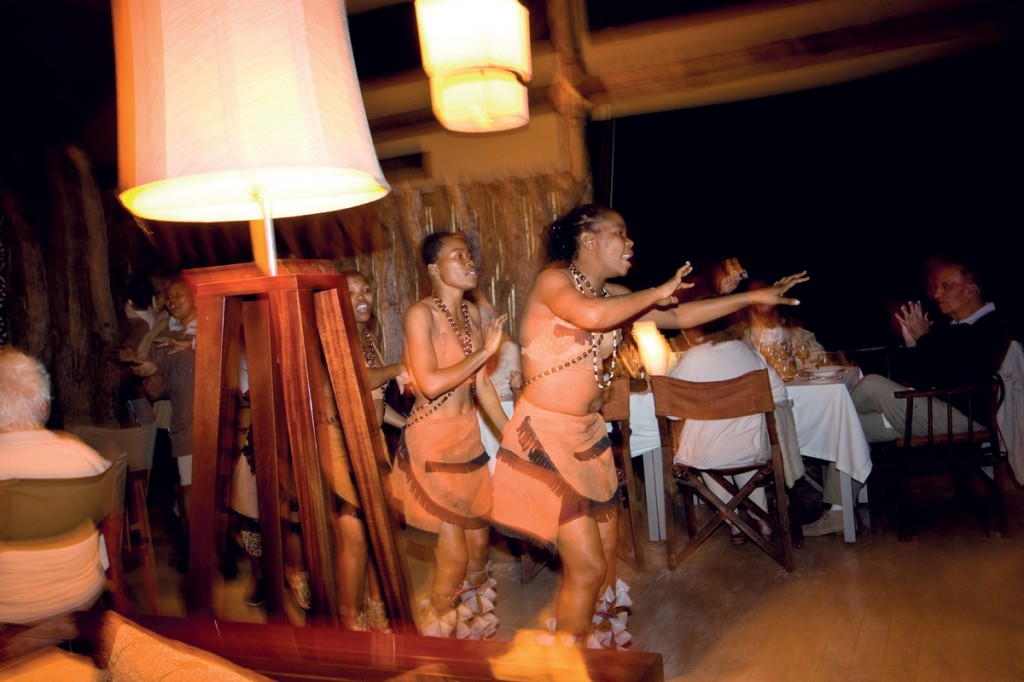Entertainment | Photo Credit: Savute Elephant Camp